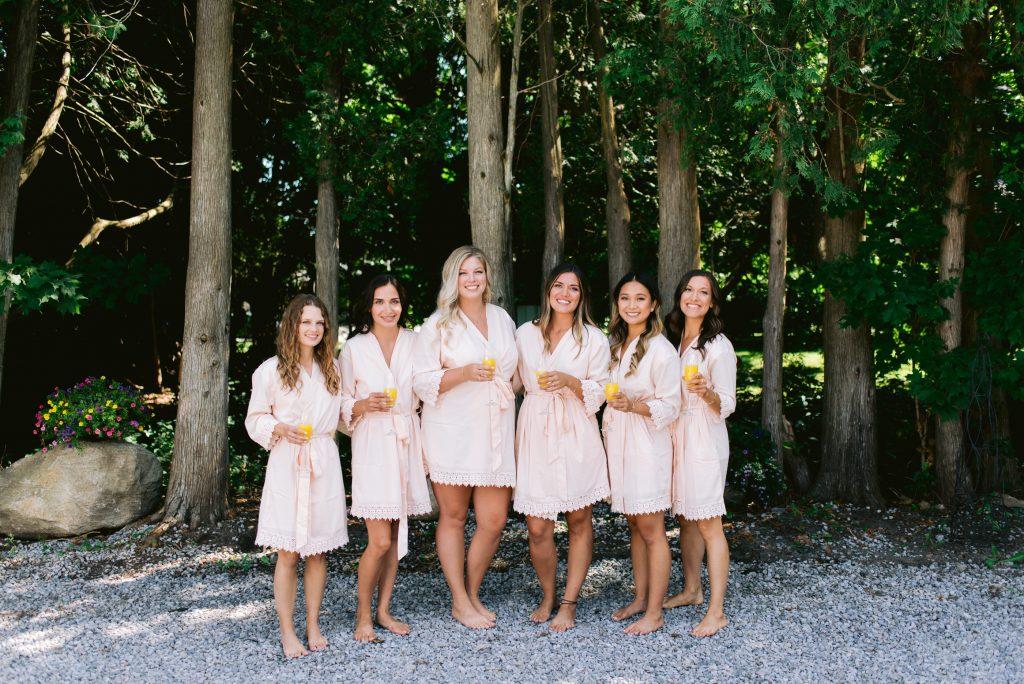 Ontario backyard wedding