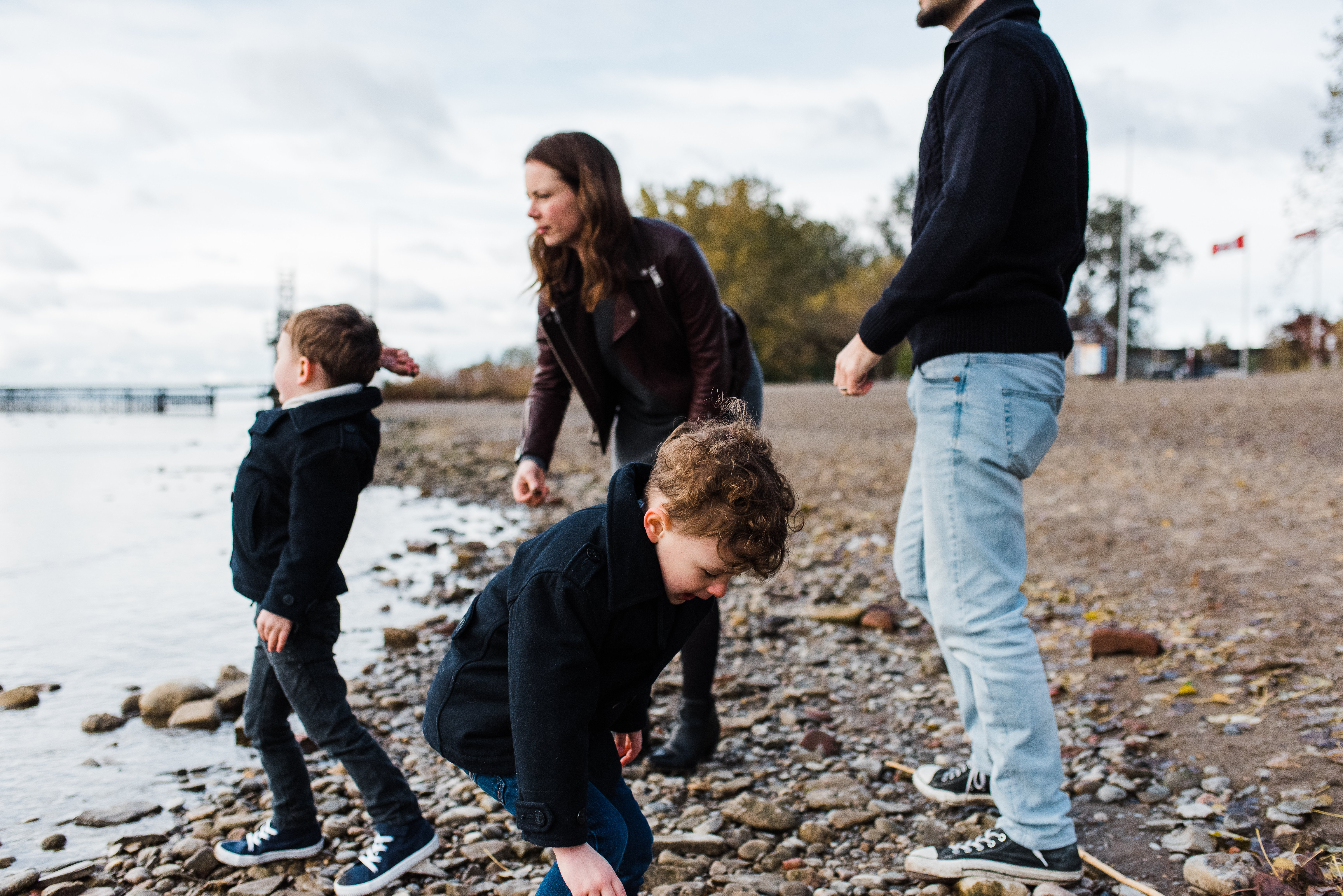 family photography on beach