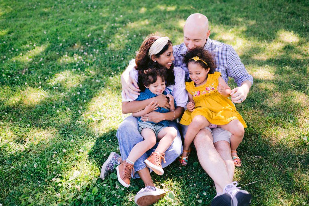 toronto park family session