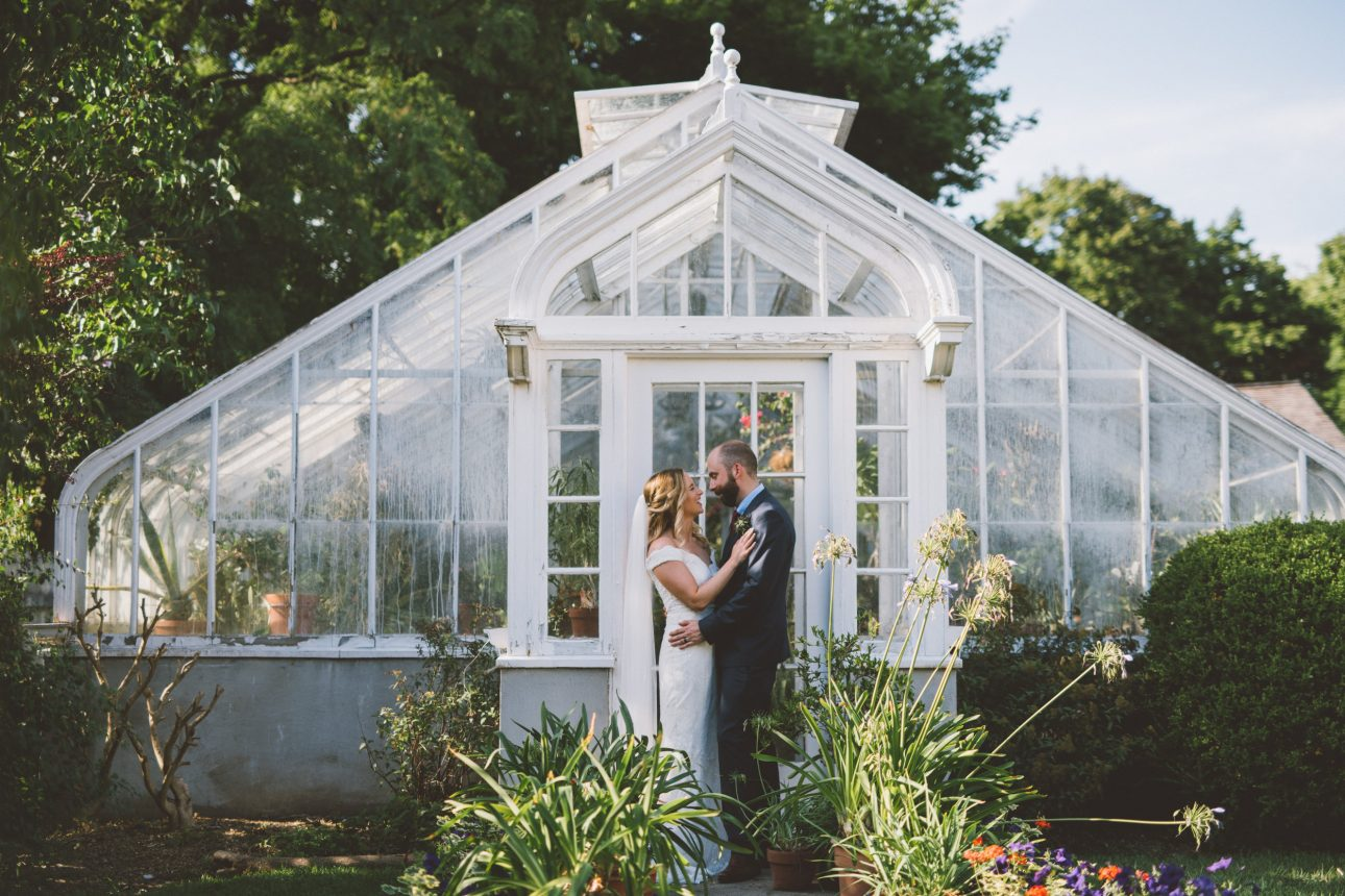 Spadina House wedding photos
