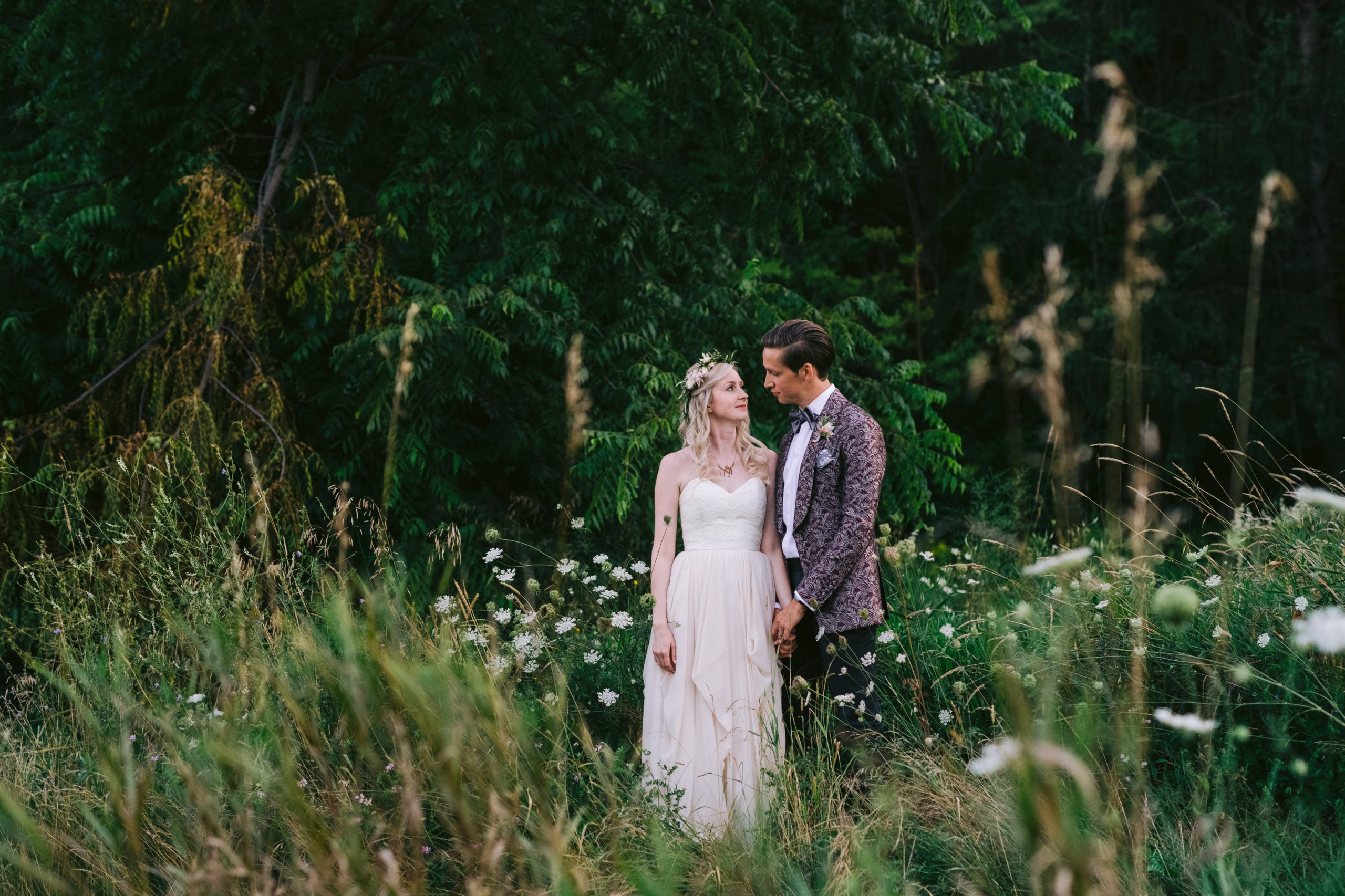Boho Kortright Centre Wedding